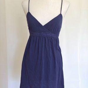 Aerie Blue Spaghetti Strap Dress